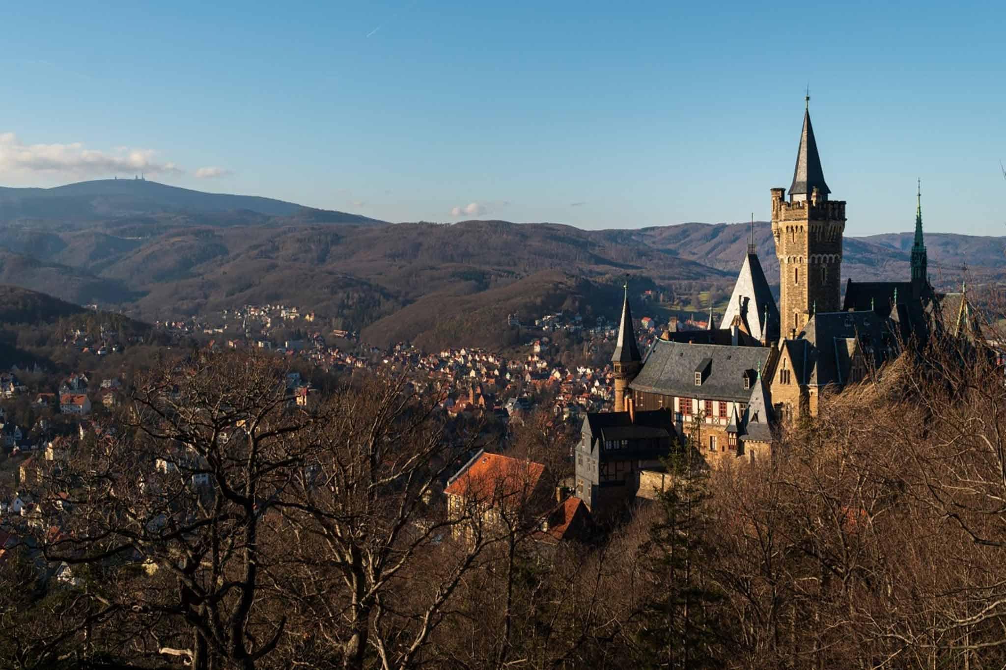 Schloss in Wernigerode im Harz